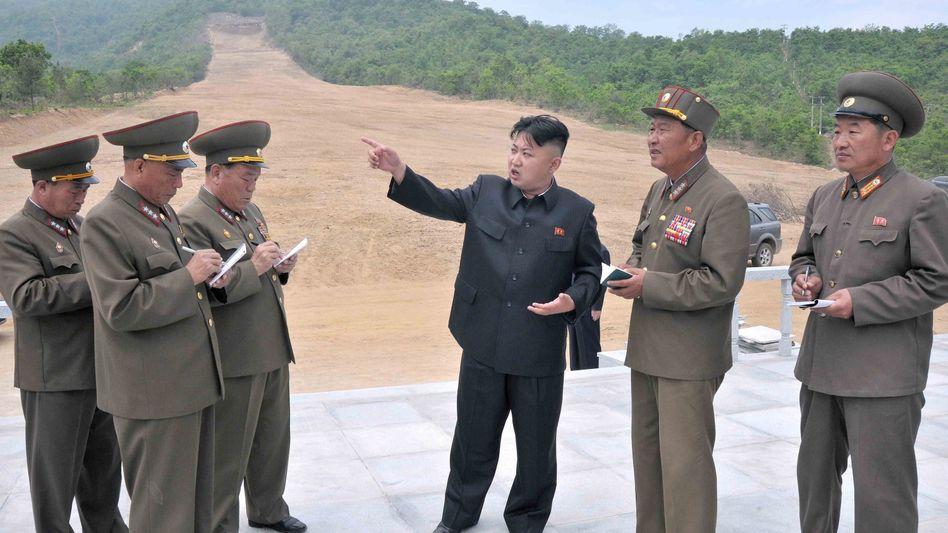 Nach dem Säbelrasseln nun Signale der Annährung: Nordkorea sendet nach zahlreichen Provokationen im Atomstreit ein Signal der Entspannung an die USA
