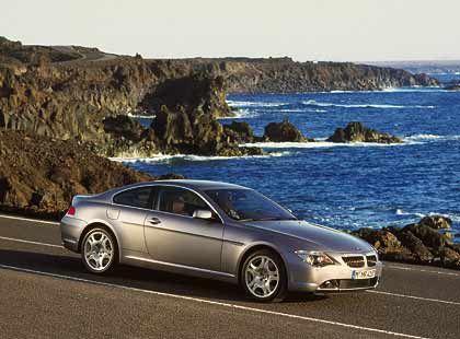 Kein Leichtgewicht: Der BMW 645 wiegt 1700 Kilo