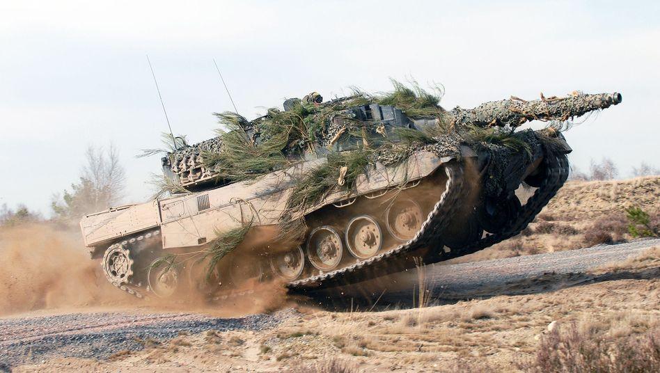 Rheinmetall und Krauss-Maffei Wegmann sollen zusammen neue Panzer entwickeln