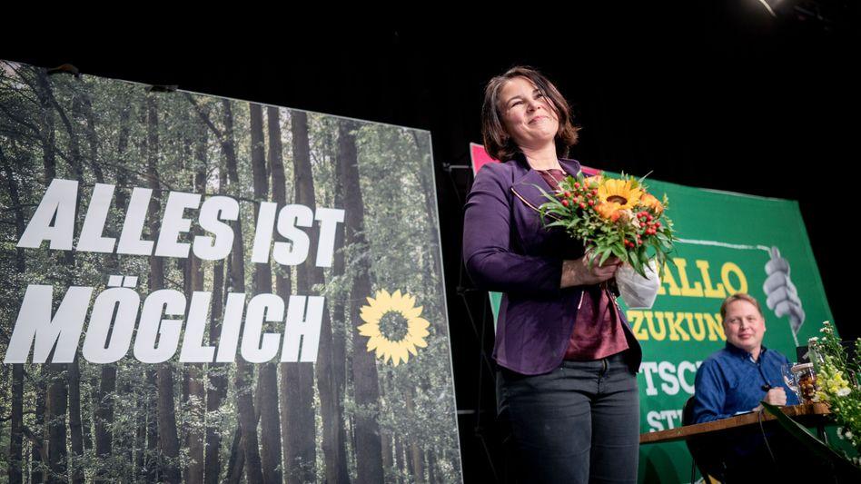 Grüne Kanzlerkandidatin: Die nächste Bundesregierung dürfte von den Grünen und Spitzenfrau Annalena Baerbock mitgeprägt sein