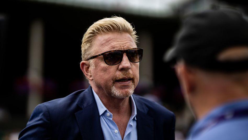 Boris Becker in London: Will sich der Ex-Tennisstar künftig mehr als 500 Pfund (580 Euro) leihen, muss er den Darlehensgeber über seinen Statur informieren