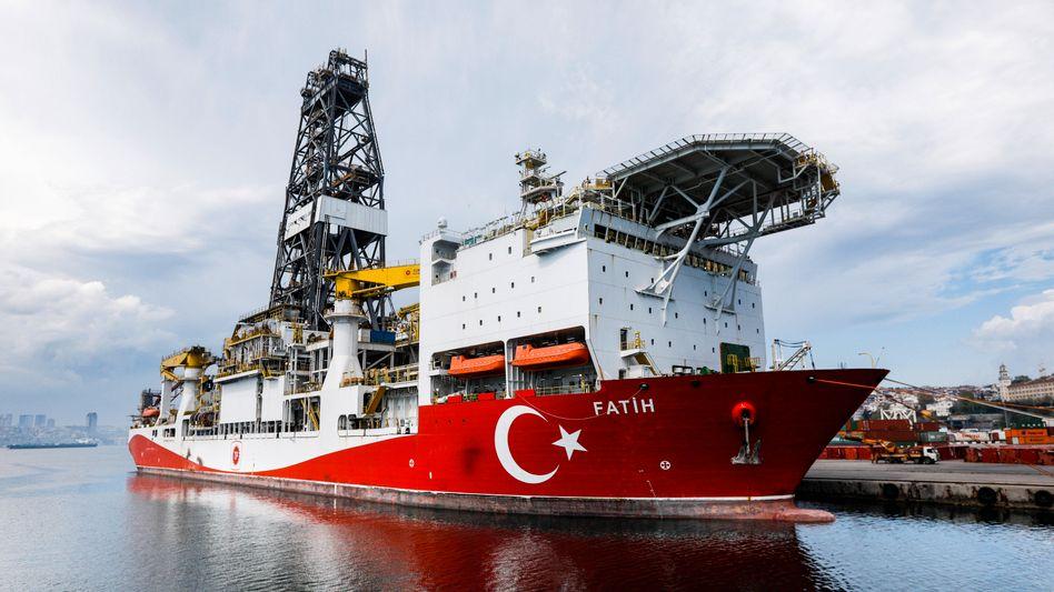 """Erfolgreich gesucht: Das türkische Bohrschiff """"Fatih"""" fand Erdgas im Schwarzen Meer"""