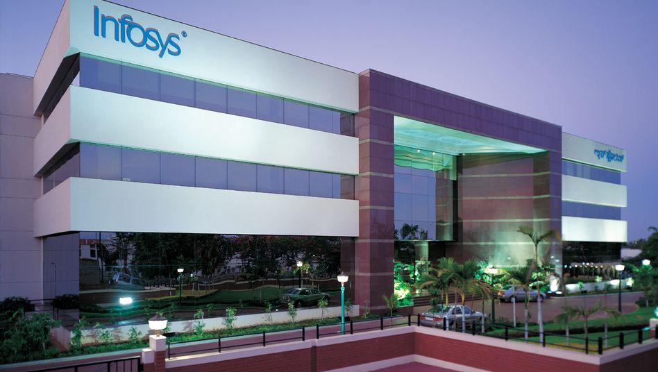 "Infosys-Gebäude in Bangalore: ""Unser Europa-Geschäft soll überproportional zulegen"""