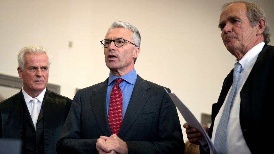 Schwere Vorwürfe vom Staatsanwalt: Heinrich Maria Schulte soll laut Plädoyer des Anklägers für zwölf Jahre hinter Gitter