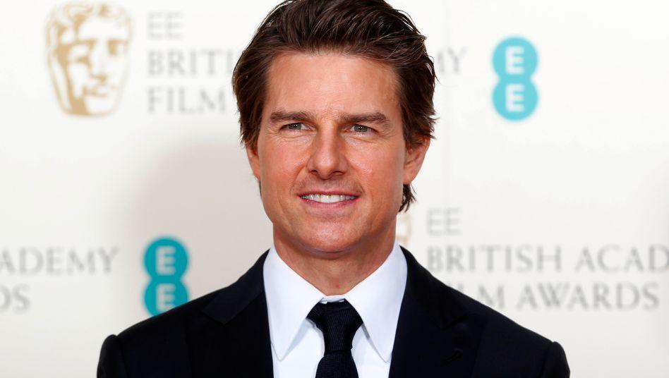 """Schauspieler Tom Cruise ist das wohl prominenteste Mitglied der Scientology-Bewegung. Angeblich hat er bereits den siebten Level eines """"Operating Thetan"""" erreicht - was für Scientologen ein sehr hoher Grad der Erkenntnis ist"""