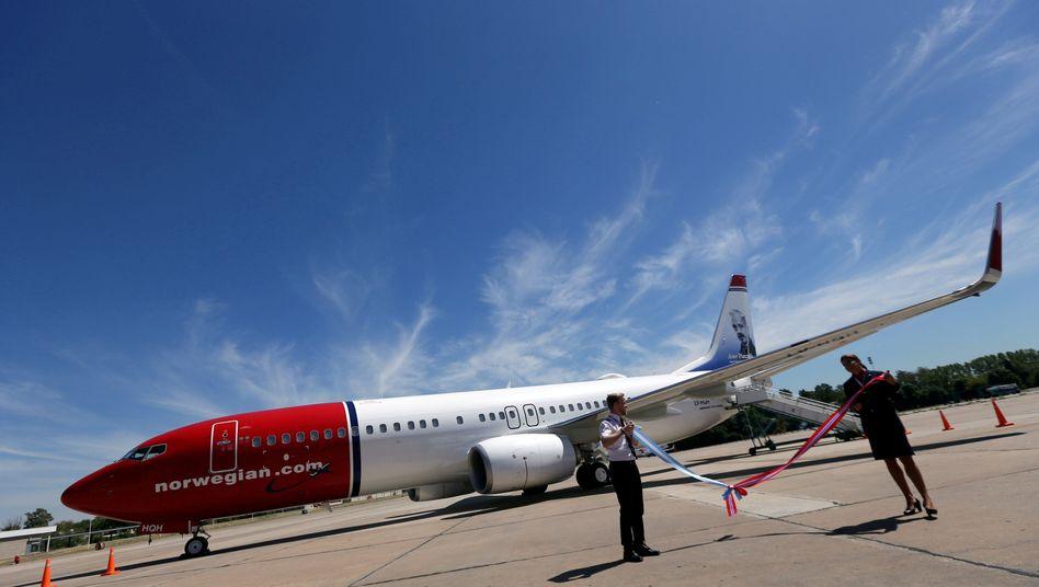 Boeing des Billigfliegers Norwegian: Vorreiter für Billigflüge auf der Langstrecke