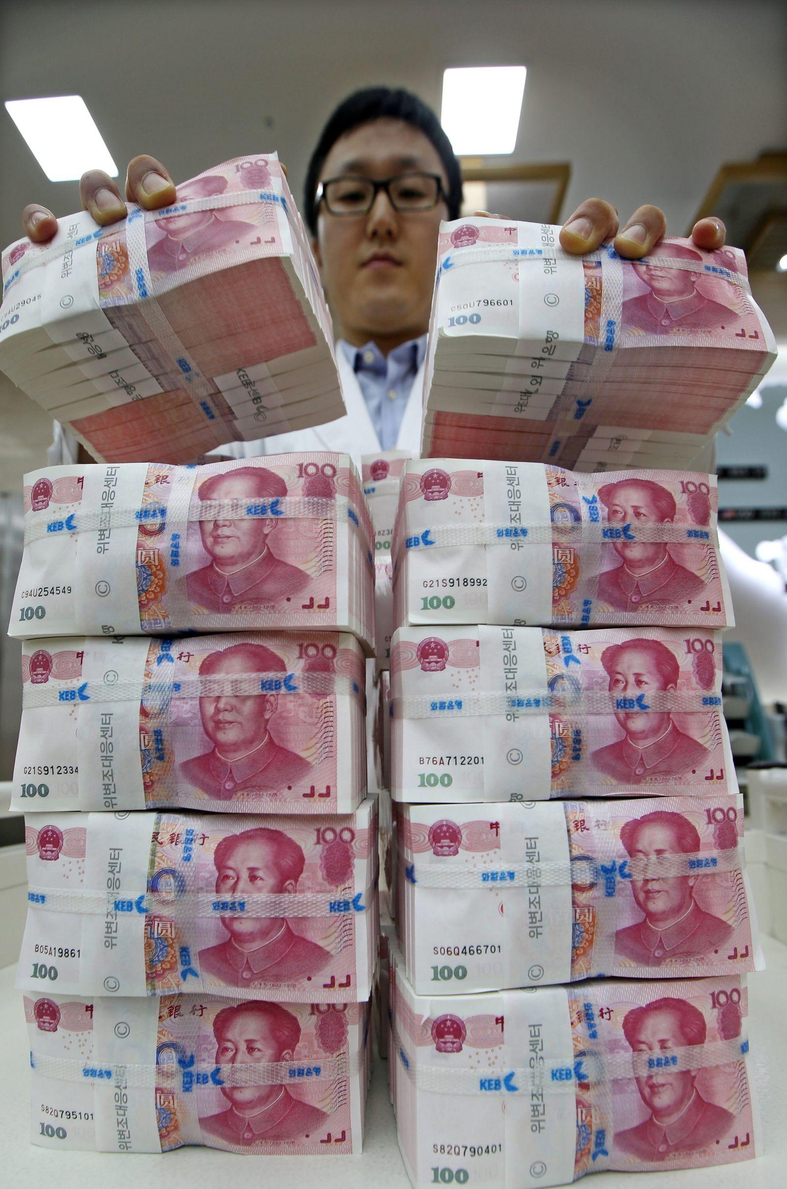 Won plummets vs. dollar on yuans depreciation