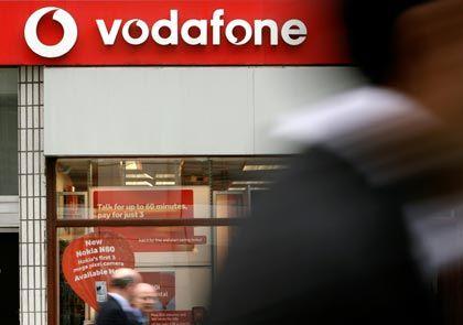 Gewinne wieder in Sicht: Vodafone verringert Verluste