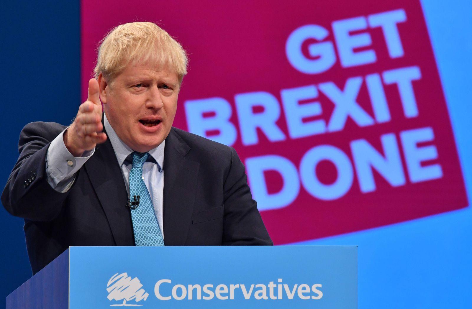TOPSHOT-BRITAIN-EU-POLITICS-BREXIT-CONSERVATIVE-CONFERENCE