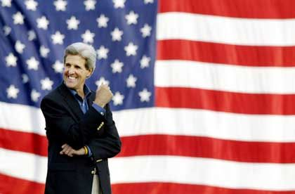 Herausforderer John Kerry: Haushaltsdisziplin ist wenig populär