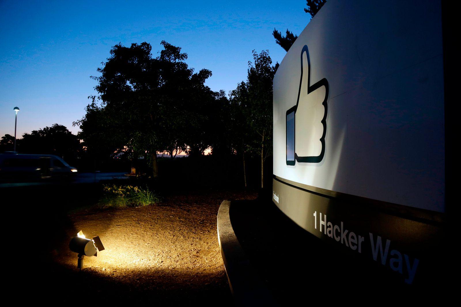 Symbolbild Facebook/ Hauptquartier/ Menlo Park