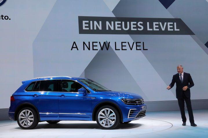 VW Tiguan: Platz 5 im Ranking der meistzugelassenen Autos in Deutschland 2015