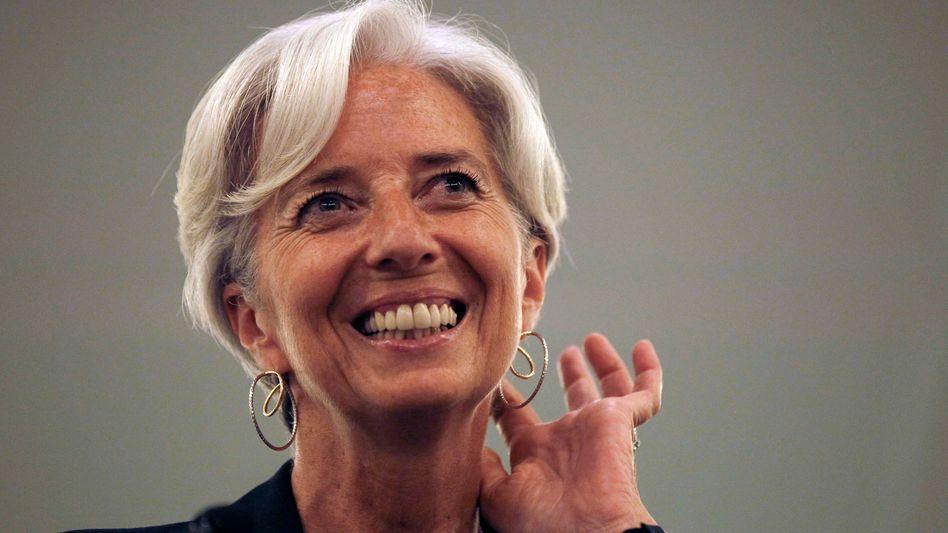 """""""Allen Mitgliedern mit der selben Aufmerksamkeit und in dem selben Geist dienen"""": neue IWF-Chef Lagarde"""