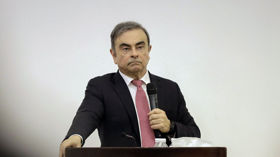 Nissan will von Carlos Ghosn 83 Millionen Euro Schadenersatz haben