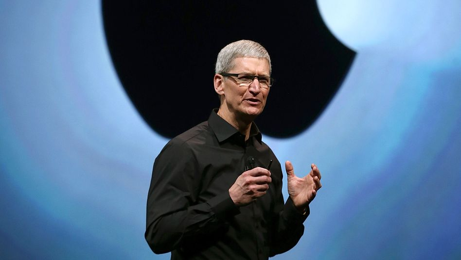Kann auch anders: Apple-Chef Tim Cook