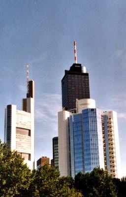 Bankenskyline: Die Zukunft ist unklar