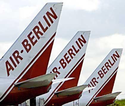 Wo sind die Aktien? Um die Zukunft eines Pakets Aktien von Air Berlin herrscht Unklarheit