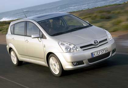 Corolla Verso: Toyota ist schon lange topp in der Pannenstatistik, holte nun auf in Image und Verkaufszahlen