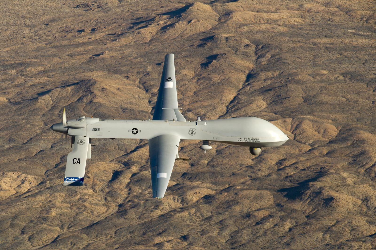 US-Drohne Typ MQ-1 Predator/ Afghanistan