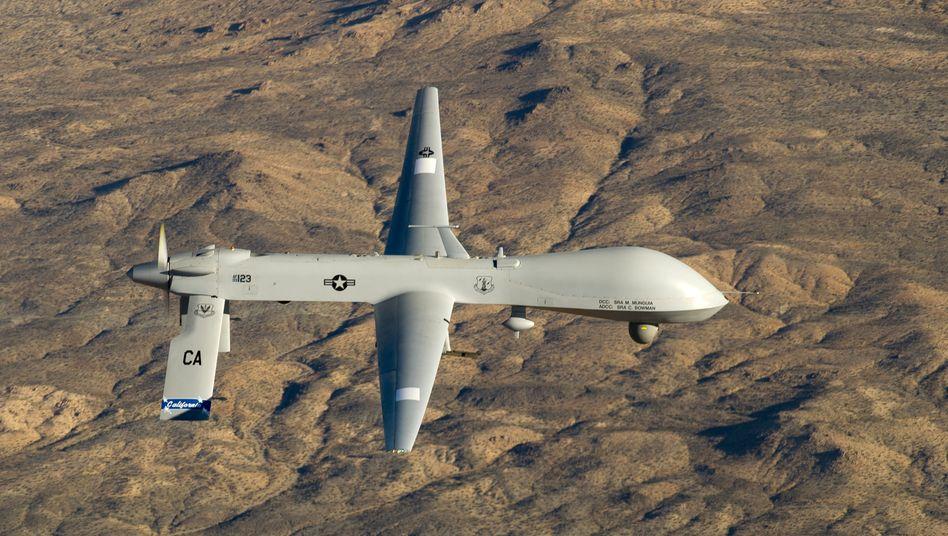 US-Predator-Drohne: Das US-Militär will die Effizienz seiner Drohnenaktivitäten verbessern und setzte dabei auf die Hilfe großer US-Tech-Konzerne