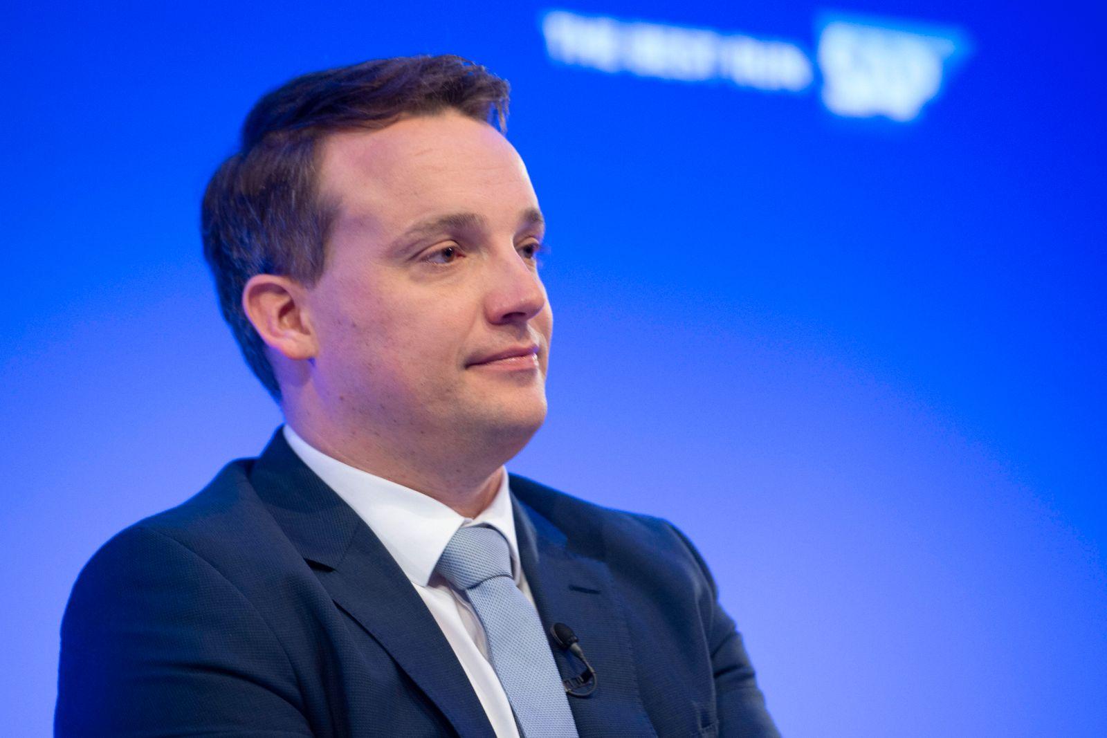 Christian KLEIN, Co-Vorstandssprecher (Co-CEO) Bilanzpressekonferenz der SAP AG in Walldorf, 28.01.2020. *** Christian