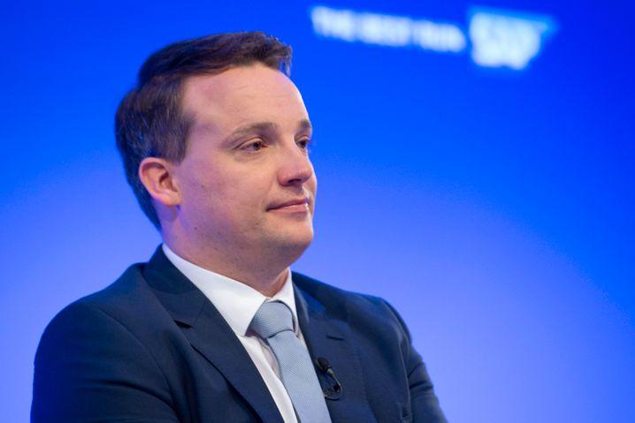 Schlechte Nachrichten vom CEO: SAP-Chef Klein kassierte seine Prognose.