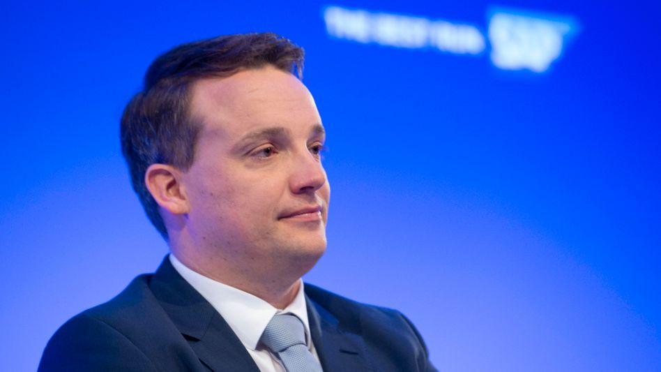 """SAP-Chef Christian Klein: """"Für Unternehmen ist der Umstieg in die Cloud, verbunden mit einer echten Neuausrichtung ihres Geschäfts, unerlässlich geworden"""""""