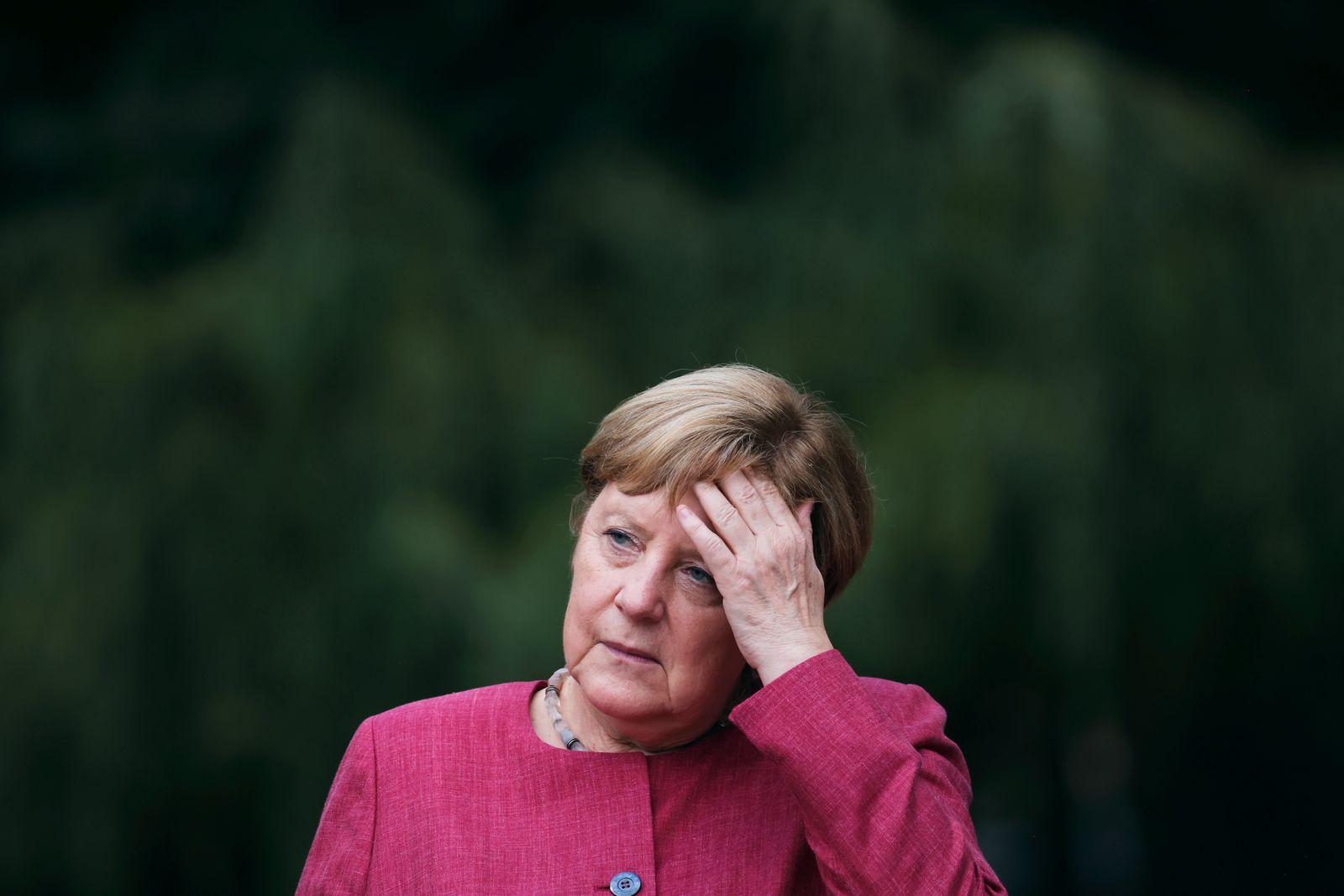 Angela Merkel Visits Her Home Town
