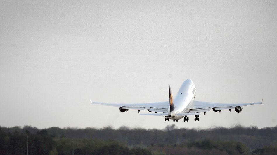 Boeing 747 der Lufthansa (im alten Design)