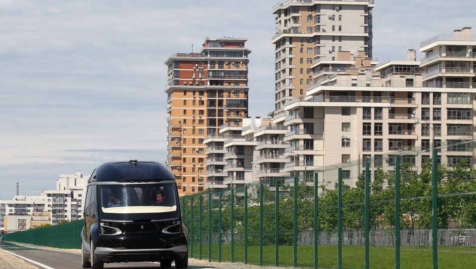 Autonomer Kamaz-Stadionbus in Russland: Hohes Sparpotenzial