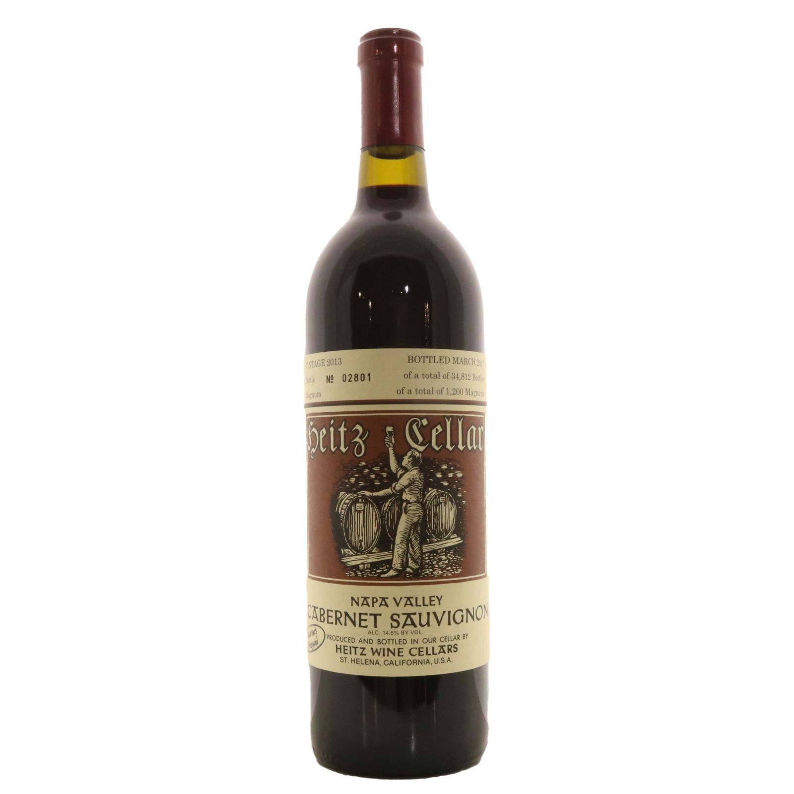 Martha´s Vineyard Cabernet Sauvignon 2013, Heitz, Napa Valley, USA
