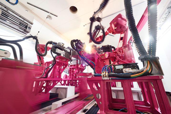 Industrie 4.0: Smart Factory bei Rittal im hessischen Haiger