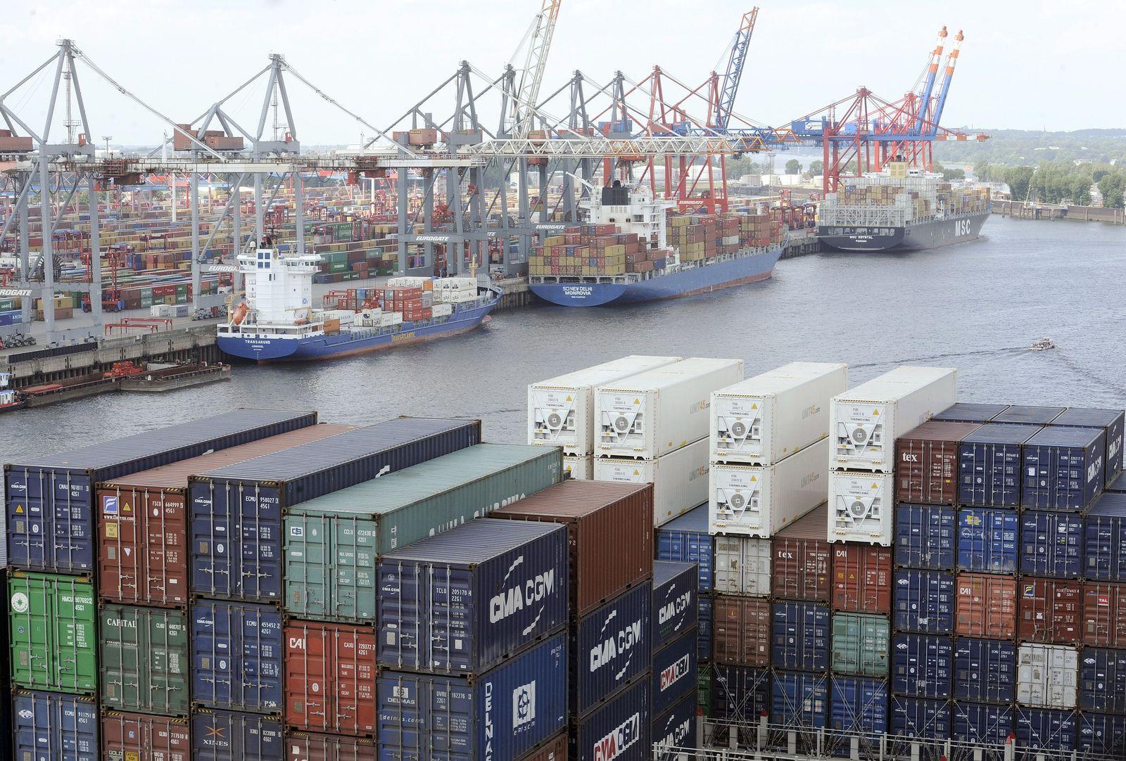 Konjunktur / Hafen Hamburg