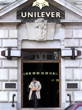Zentrale London: Der britisch-niederländische Konzern Unilever baut um, 20.000 Jobs in Europa sollen dem Umbau zum Opfer fallen