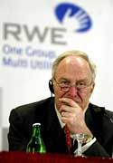 RWE-Chef Dietmar Kuhnt