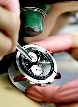 Wirtschaftswunder Ost: Ausgerechnet im sächsischen Städtchen Glashütte ist eine einzigartige Ballung von Uhrenmanufakturen entstanden