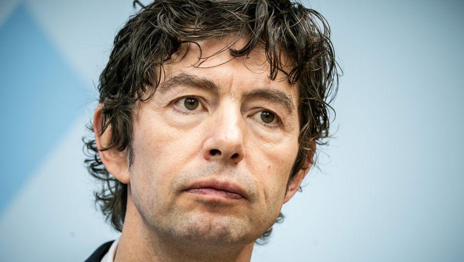Christian Drosten: Der Virologe der Berliner Charité ist wegen der Mutation nicht übermäßig besorgt