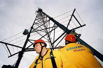 Stark bei der Installation von Breitbandnetzen: Die Siemens-Sparte Mobile Networks