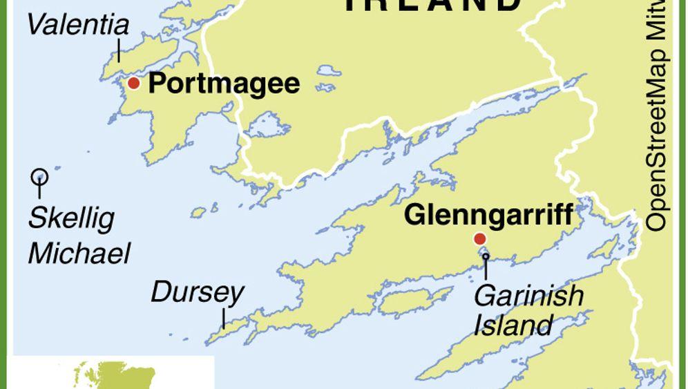 Wo die Macht mit Ihnen ist: Skellig Michael und die Inseln Irlands