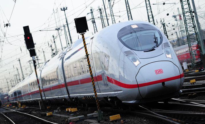Exporthoffnung: Siemens würde den ICE gern auch in Brasilien fahren lassen