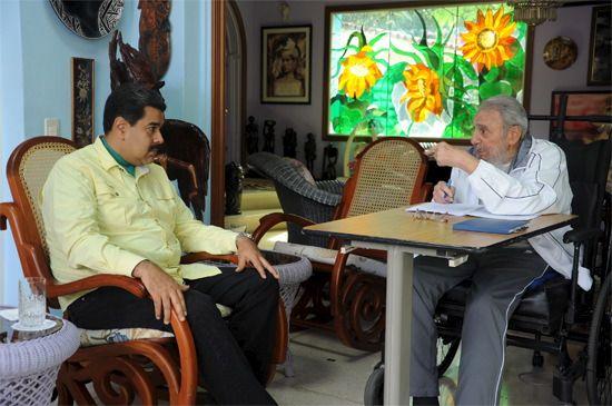 USA-Kuba: Castro und Maduro