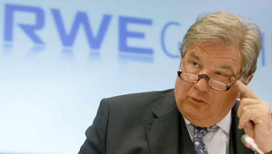 RWE-Chef Jürgen Großmann: Essener Energiekonzern vor Änderungen