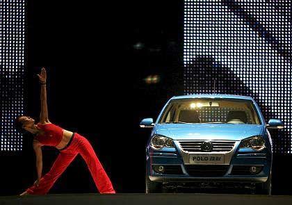 Wichtiger Markt: VW-Polo-Präsentation in China