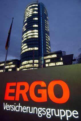Ergo-Zentrale: Von Bomhard steht zu der Tochtergesellschaft