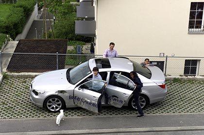 Hightech meets Durchschnittsfamilie: Der BMW der Familie Steiner