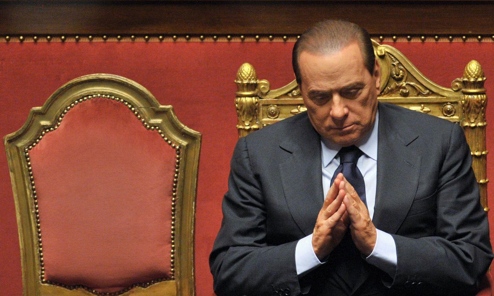ITALY-POLITICS-BERLUSCONI-FILES