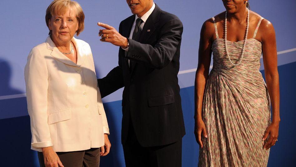 """Obama, Merkel: """"Mehr als ich erwartet hatte"""""""