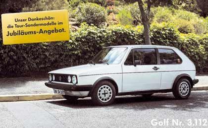 Autobauer treiben den Werbemarkt: VW feierte Anfang des Jahres seinen 25-millionsten Golf