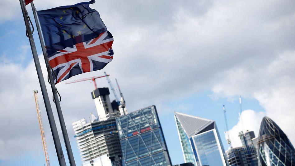 Bankenviertel in London: Britische Finanzdienstleister sollen weiter Zugang zum EU-Markt haben