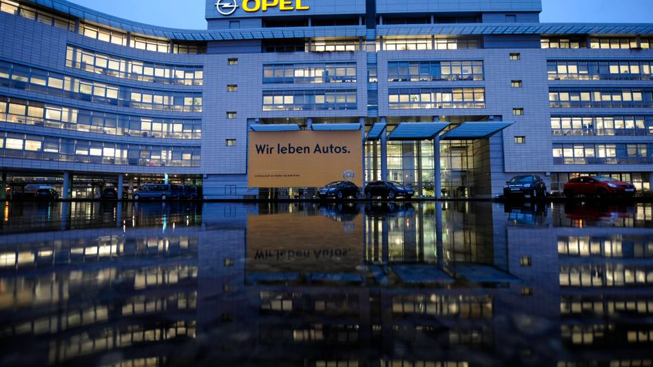 Das Adam-Opel-Haus in Rüsselsheim: Am Standort werden wohl Mitarbeiter gehen müssen